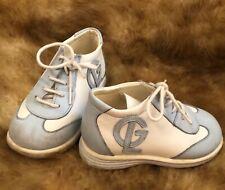 GUY Laroche blue white GL baby boy shoes  size 22