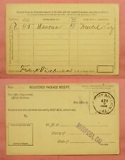 1888 DPO 1862-1955 MOUNT BULLION CALIFORNIA CA CANCEL MARIPOSA COUNTY HELBOCK 3