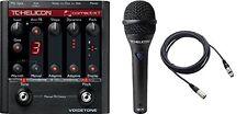 TCHelicon*VoiceTone CorrectXT+MP75 Mic+Cable*Vocal Effect Processor Bundle 0...