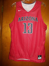 Vtg New With Tags Nike Arizona Wildcats Basketball Jersey Tank Top For Jock L