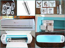 Cricut Maker Blue Die Cutting Machine W/Housing,Pen +Stencils