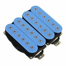Light Blue Hbbc-Bl-Xbn 4P Double Coil Humbucker Neck Bridge Guitar Pickup