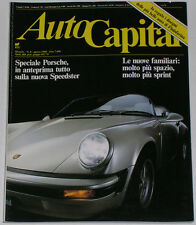 AUTOCAPITAL 8/1988 PORSCHE 911 SPEEDSTER – MASERATI 422 / 222 – VOLVO 480 ES
