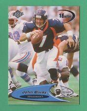 1998 Collector's Edge Odyssey 1st Quarter John Elway Denver Broncos #42 (KCR)