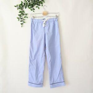 J.Crew Women's Vintage Style Pajama Pants Size PXXS Blue
