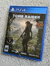 Shadow of The Tomb Raider: Definitive Edition (Ps4) *Brand New - Factory Sealed*