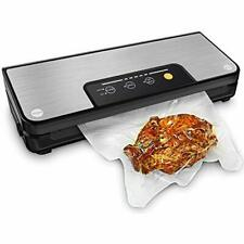 Vacuum Sealer Machine With Built-in Cutter and Roll Storage. Inc 1 Roll & 5 Bags