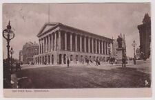 Warks/W Midlands postcard - The Town Hall, Birmingham - P/U 1904