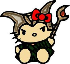 Hello Kitty LOKI Car Window Wall Macbook Notebook Laptop Sticker Decal