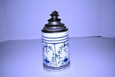 Antique Delft Cornflower Stein by Unknown maker.