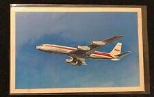 "TWA B-707 ""Up Up and Away"" Era Postcard!"