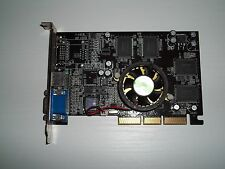 SCHEDA VIDEO mx-440se 64M  DDR 128 BIT TV OUT AGP CON VENTOLA PERFETTA OK!
