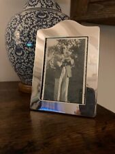 More details for a lovely sterling silver photo / picture frame. free postage.