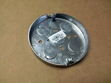 "(50 pc lot) 4"" Round Pancake Electrical Box 1/2"" Ko's ~Raco 293 Ceiling Fixture"