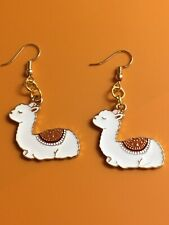 Llama Earrings/ Dangle Hook Earrings/ Women/Cute/Fashion/Alpaca/Cool/Llama