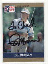 GIL MORGAN PERSONALIZED AUTOGRAPHED GOLF CARD