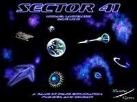 New and Factory Sealed - Sector 41 Board Game Scimitar Boardgame