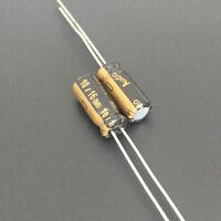 10pcs 16V 10uf 16V Nichicon top grade Audio capacitor 5x11mm