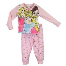 Pyjamas rose pour fille de 2 à 16 ans en 100% coton