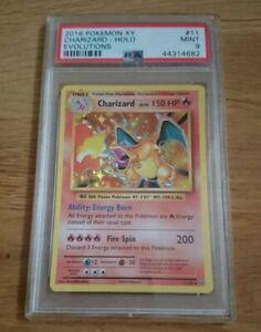 Carte Pokémon Dracaufeu 11/108 XY Evolutions Holo PSA 9 MINT - Anglais