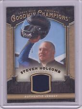 2014 UPPER DECK GOODWIN CHAMPIONS STEVEN HOLCOMB RELIC CARD ~ OLYMPIC BOBSLED