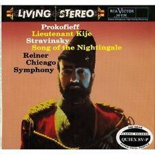 Fritz Reiner, Prokofieff Lieutenant Kije Stravinsky. 200G Classic Records Sealed