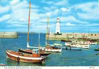 Lovely Vintage Postcard Harbour & Lighthouse Donaghadee N.Ireland Unposted.