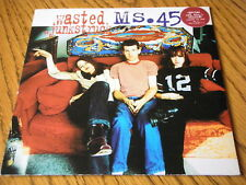 "MS.45 - WASTED  7"" RED VINYL PS"