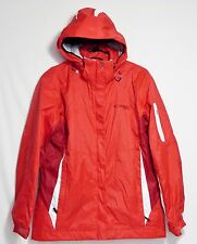 Columbia Red White XCO Interchange Winter Jacket Shell ONLY Hood Women's M EUC