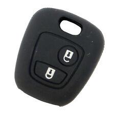NUOVA Custodia silicone guscio telecomando 2 tasti auto CITROEN C2 C3 C4 PT10