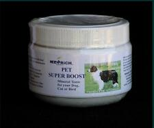 Neem Rich PET SUPER BOOST Natural Mineral Tonic Dog Cat  Poultry Bird Fish 380gr