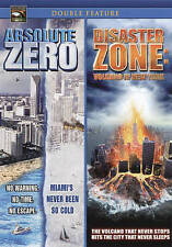 ABSOLUTE ZERO 0 & DISASTER ZONE VOLCANO IN NEW YORK DVD MOVIE DOUBLE FEATURE