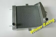 ALUMINUM RADIATOR FOR Jaguar C-Type XK120 Heritage Chassis 3.4L 51-53 3 ROW 74MM
