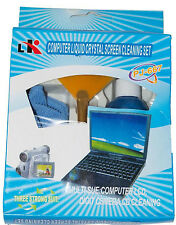 2 x Computer Liquid Crystal Screen Cleaning Set Kit Laptop Cleaner LCD TV Camera