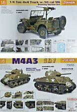 Dragon 1/6 Tank Jeep Military Vehicle New Plastic Model Kit 1 6 Action Man Size