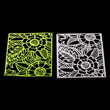 flower background Metal cutting dies stencil scrapbooking embossing albumdiyA5