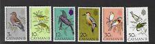 Cayman Island 1974 UMM Birds sg 337/42