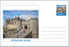 "Landmarks - souvenir postcard (glossy 6""x4""card) - Stirling Castle, Scotland"