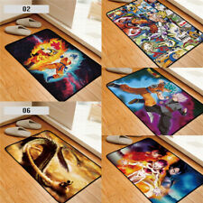 Dragon Ball Z Son Goku Square Floor Rug Carpet Room Doormat Non-slip Chair Mat