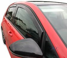 DVW31194 VOLKSWAGEN GOLF 7 mk7 5 door hatchback wind deflectors 4pc TINTED HEKO