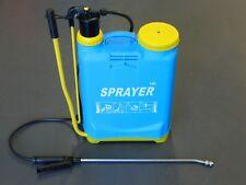 Backpack Pump Weed Garden Sprayer 16Ltr Chemical Spray Unit Knapsack Chemical