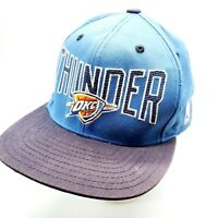 Adidas Oklahoma City Thunder NBA OKC Basketball Snapback Blue Cap Hat