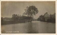 Carlton near Goole. Low Street Flood.