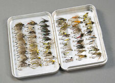 60 Soft Hackle Wet Flies & North Country Spiders in a Perrine Fly Box