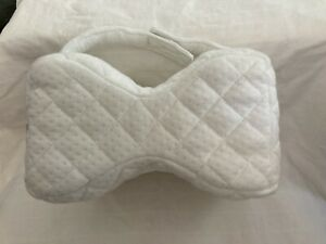 Leg Pillow Contoured Keeps Knees And Hips Aligned Quilted Cover New