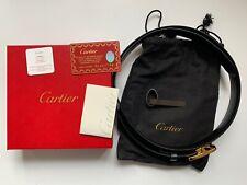 Cartier Gürtel Herrengürtel L5000171 Neuwertig LP 495€