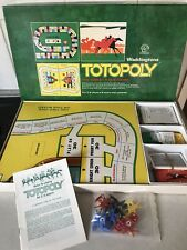 Vintage Rare Board Game 1972 Totopoly Horse Racing Waddingtons 100% Complete