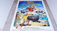 TARAM ET LE CHAUDRON MAGIQUE  ! affiche cinema  animation bd disney
