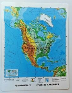 Central & North American +Outline Map Geography History US Grade 4 5 6 7 8 9 10+