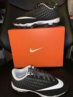 Nike Vapor Ultrafly 2 Keystone WD BG Black/White Size 4Y Cleats